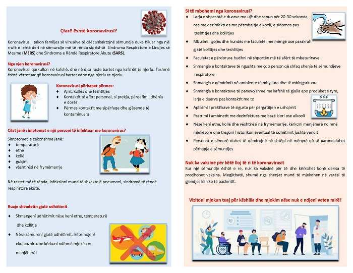 koronavirus siptomat
